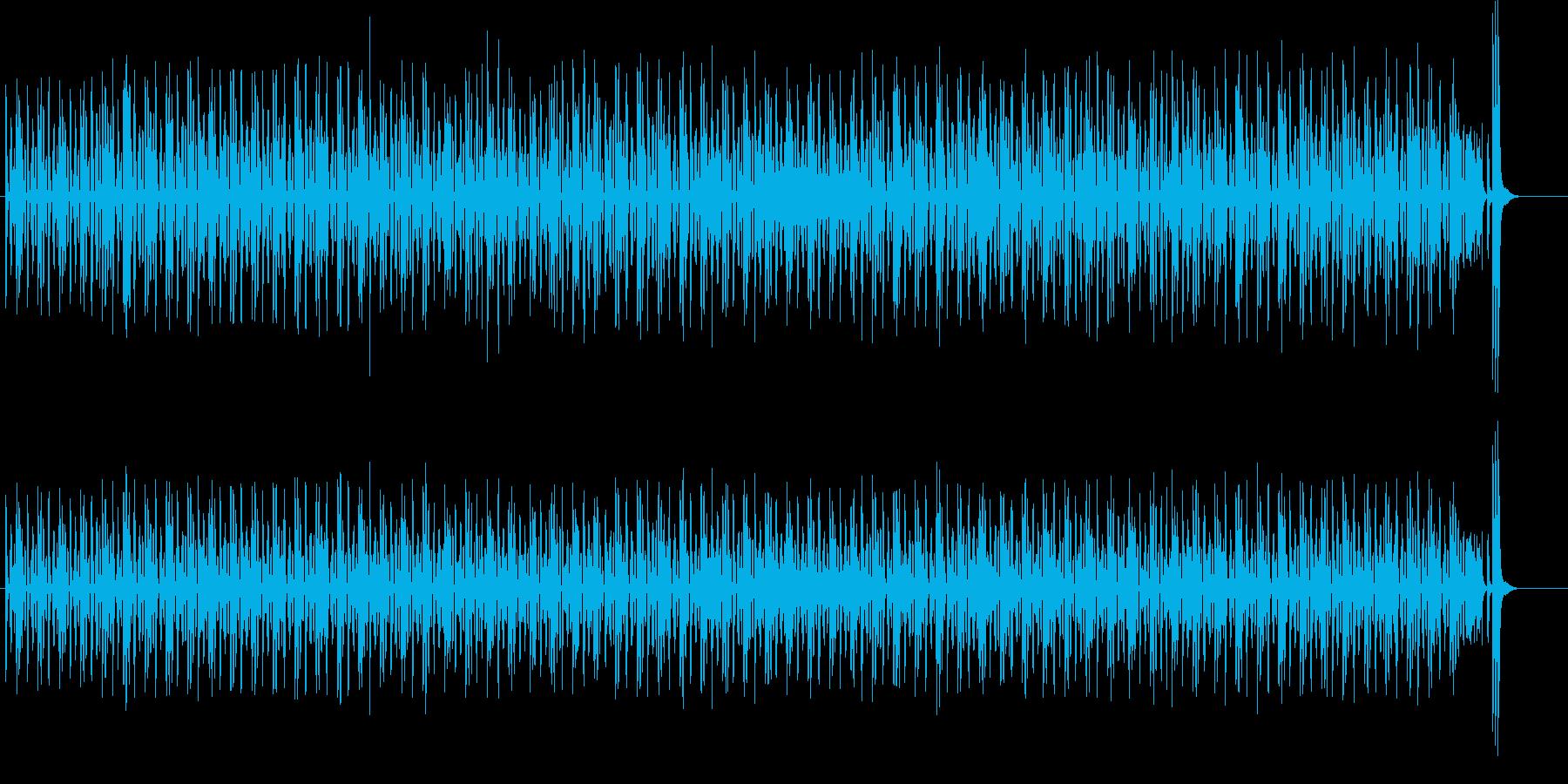 CMやアニメで使えるコミカルポップの再生済みの波形