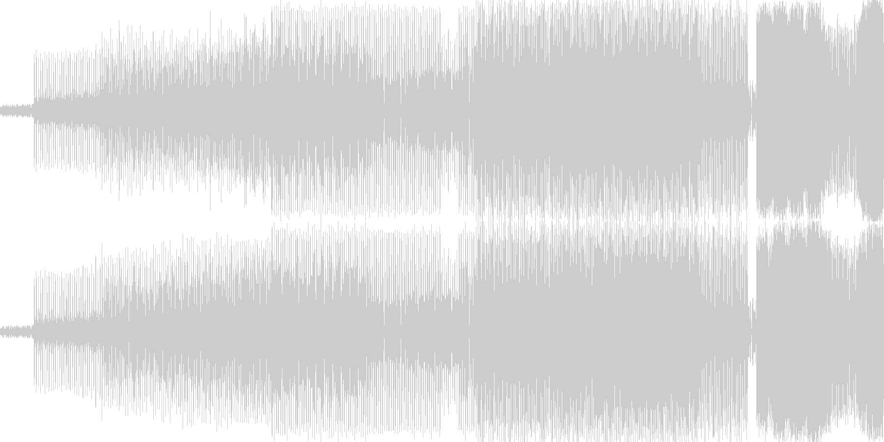 マドンナっぽいEDMです おしゃれなク…の未再生の波形
