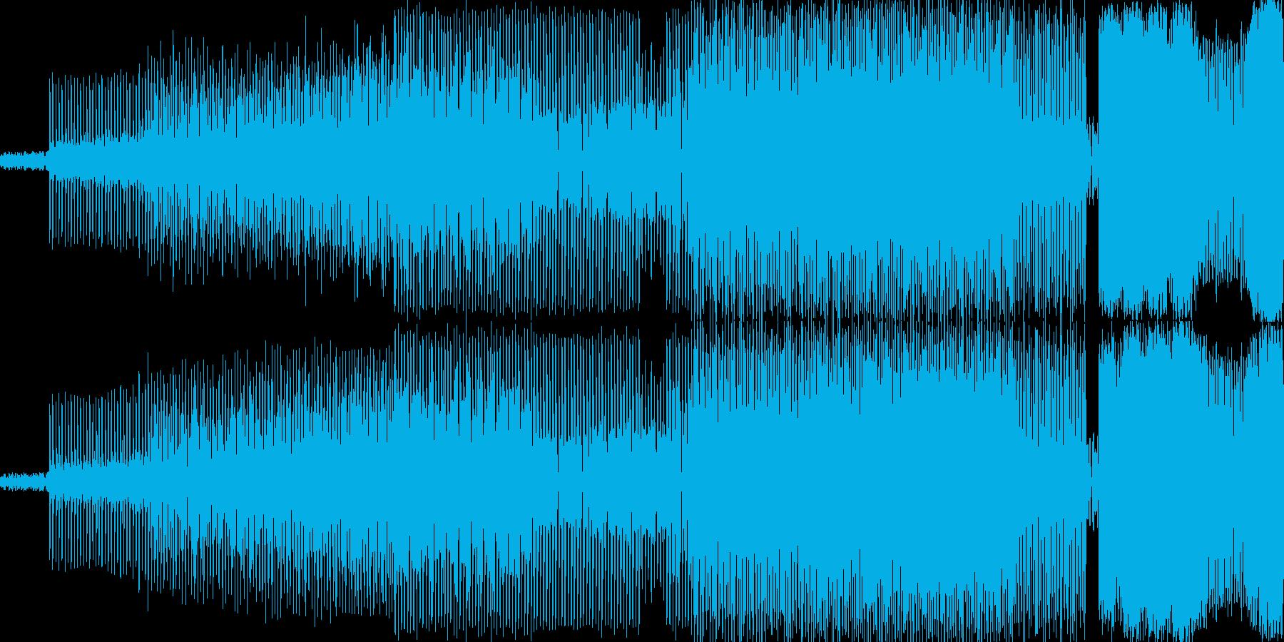 マドンナっぽいEDMです おしゃれなク…の再生済みの波形