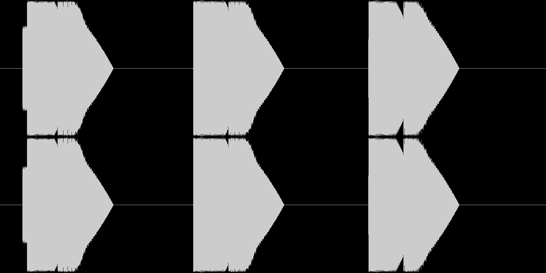 ピコン×3_上昇型_エネルギー十分_遭遇の未再生の波形