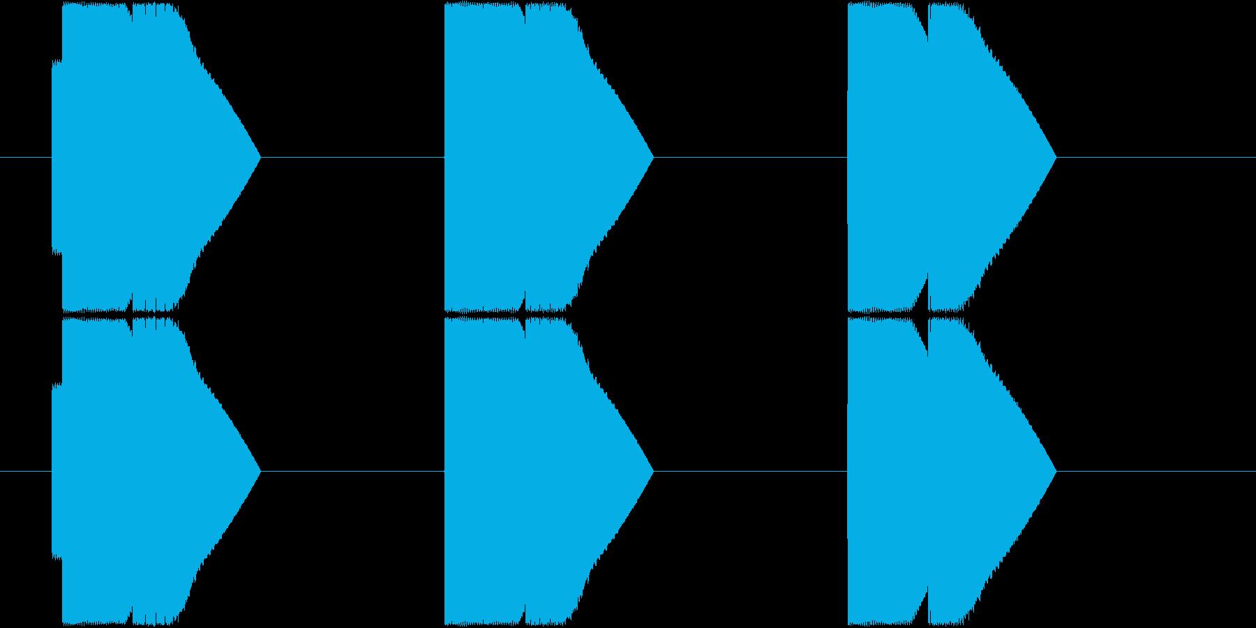 ピコン×3_上昇型_エネルギー十分_遭遇の再生済みの波形