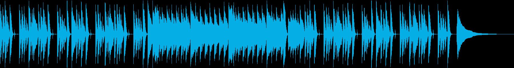 首をかしげるようなコミカルな日常BGMの再生済みの波形