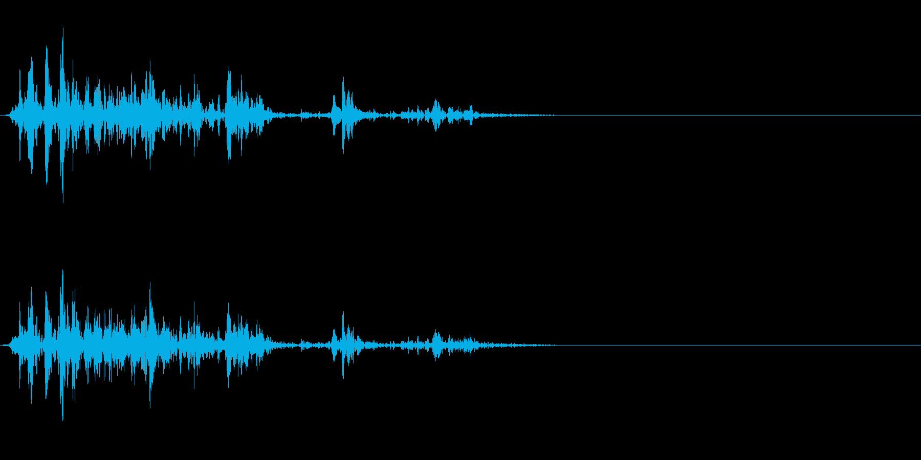ゴボゴボ☆排水溝の音 その1の再生済みの波形