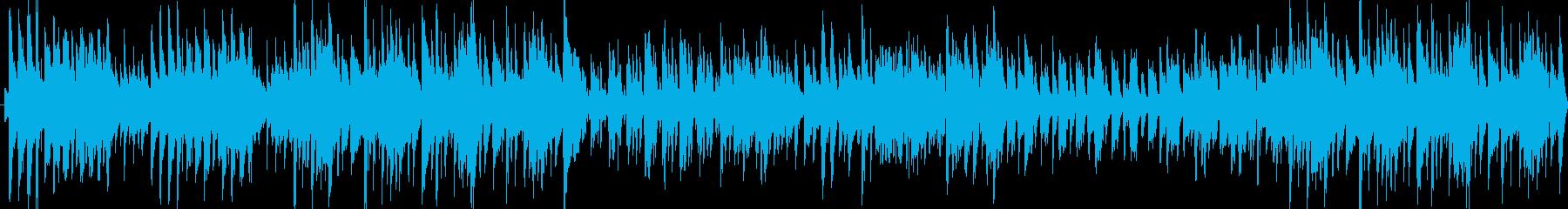 軽やかな雰囲気のマンドリン・ギターポップの再生済みの波形