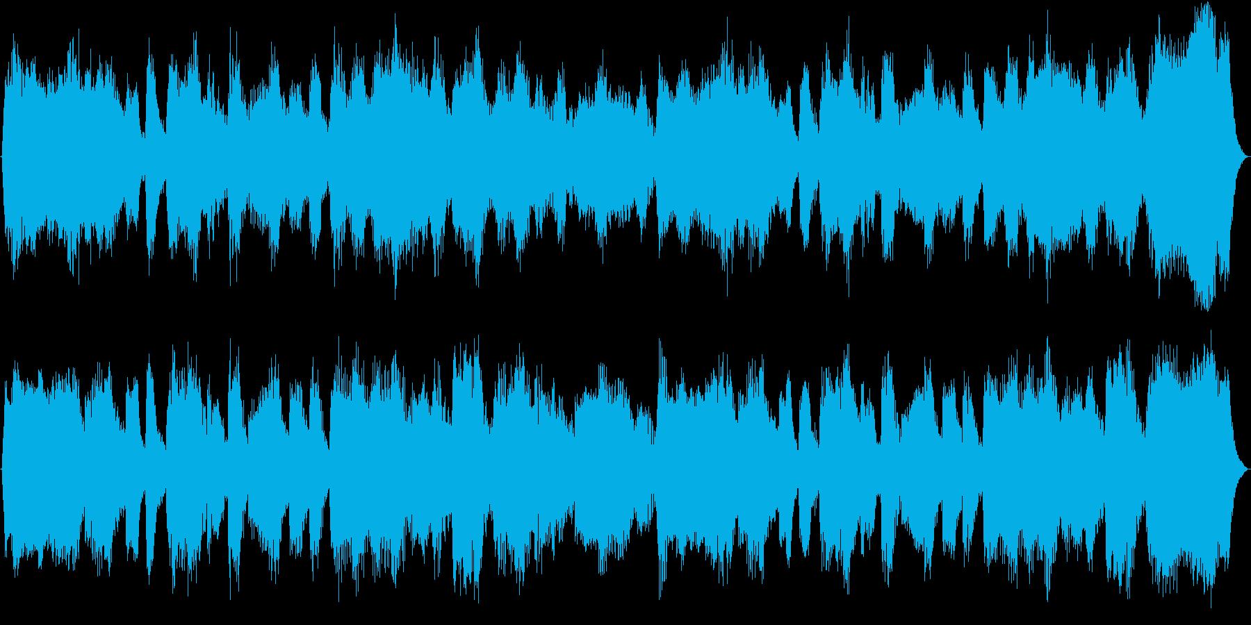 RPG系ゲームに合うクラシカルBGMの再生済みの波形