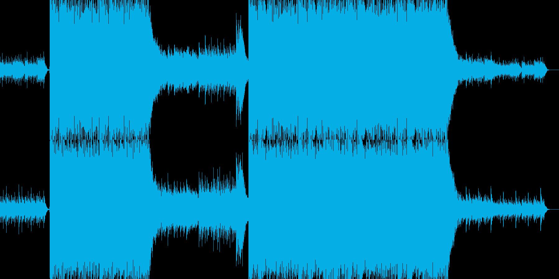 オーケストラ クワイヤー パレードの再生済みの波形