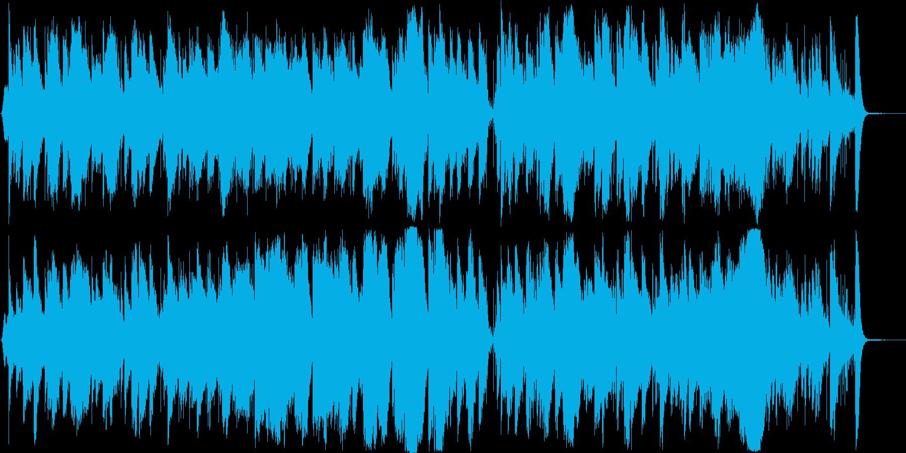 切なく悲しげでお洒落なジャズ風BGMの再生済みの波形