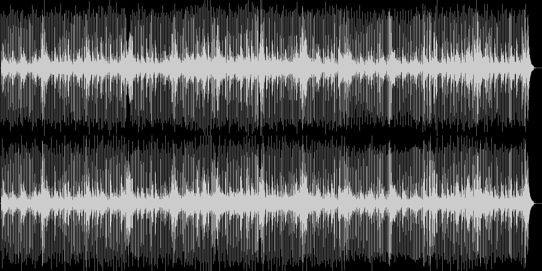 ほのぼのとしたピアノポップスの未再生の波形