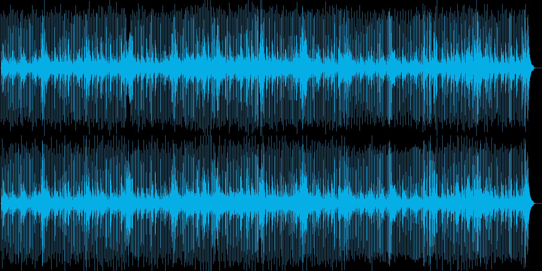 ほのぼのとしたピアノポップスの再生済みの波形