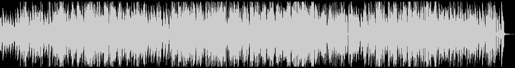 ヴィブラフォン・ジャズカルテットの未再生の波形