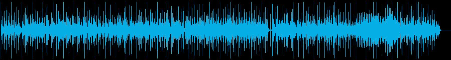 ほのぼの、コミカルアコギサウンド、子供の再生済みの波形
