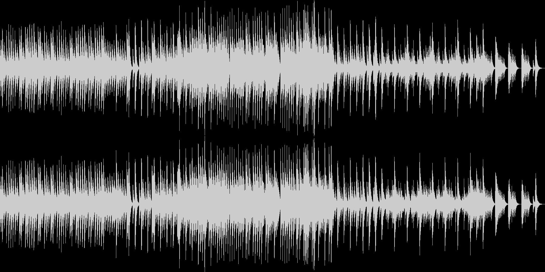 五日間の世界【優しい曲調のオルゴール曲】の未再生の波形