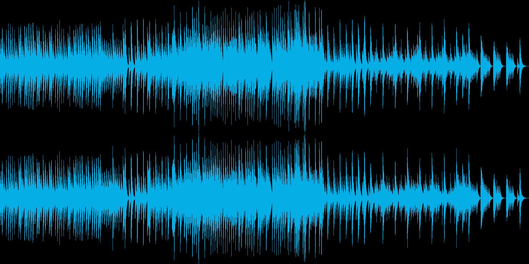 五日間の世界【優しい曲調のオルゴール曲】の再生済みの波形