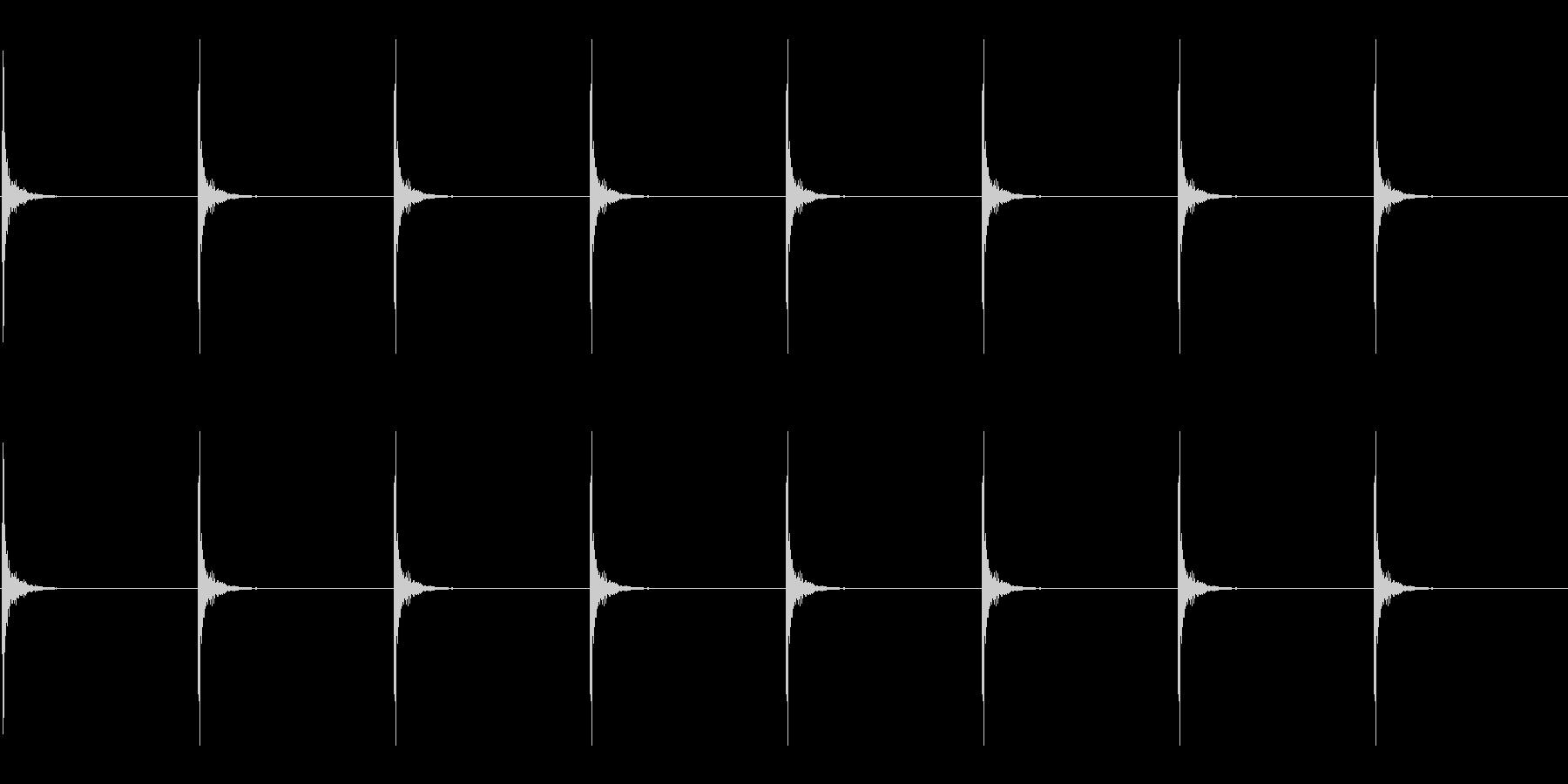 ドラムスティック/シンキングタイムその1の未再生の波形