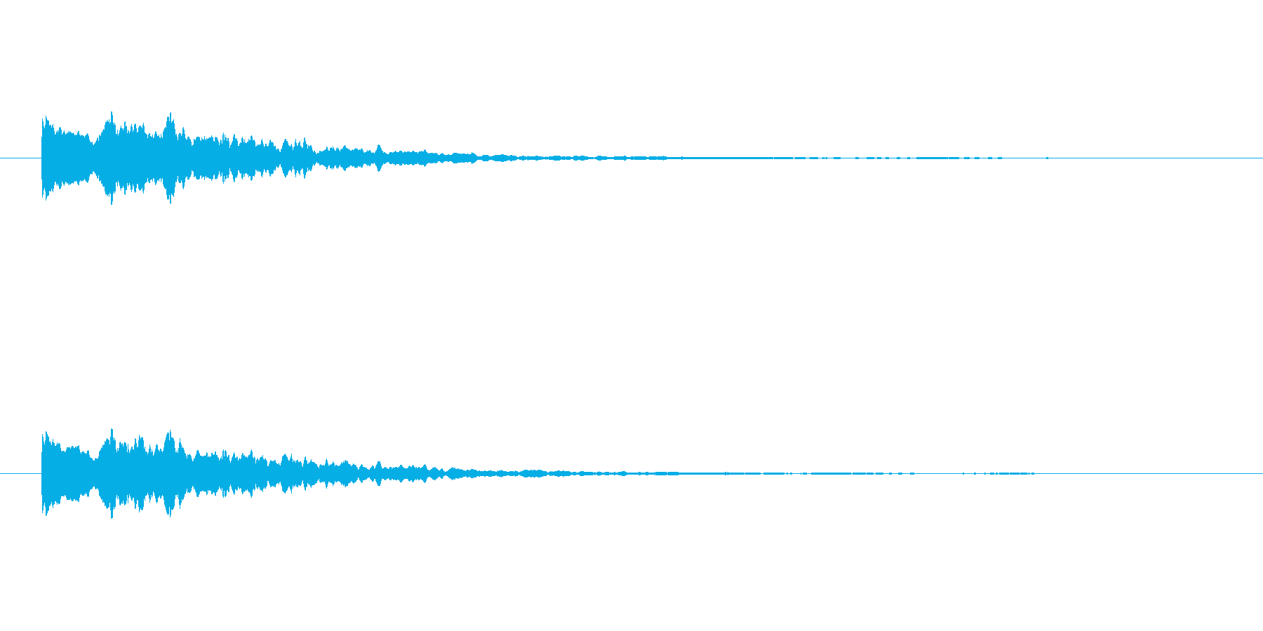 【ひらめき09-2】の再生済みの波形