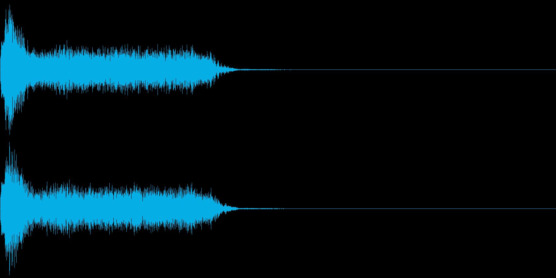 ビリビリ!電撃・感電の音!3ミドルの再生済みの波形