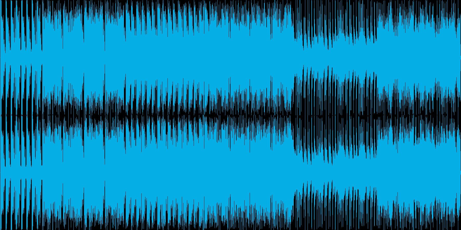 不思議な感じのメロディーです。の再生済みの波形