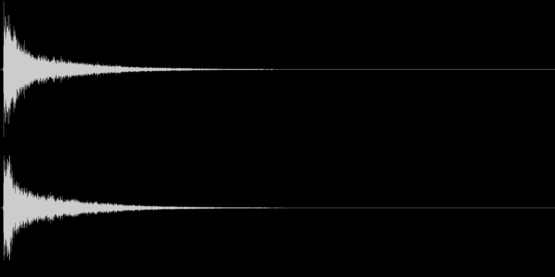タッチ カーン-1の未再生の波形