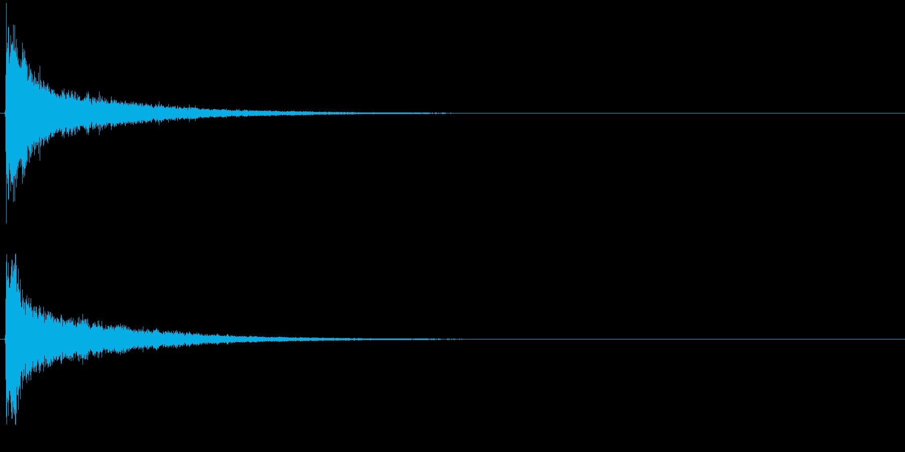 タッチ カーン-1の再生済みの波形