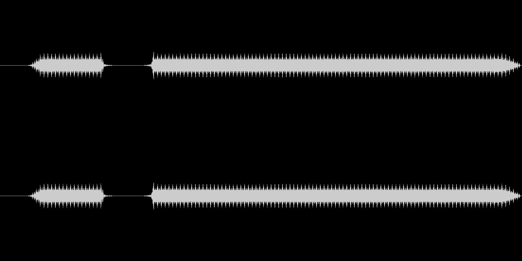 ブブー(高)【不正解、エラー】の未再生の波形