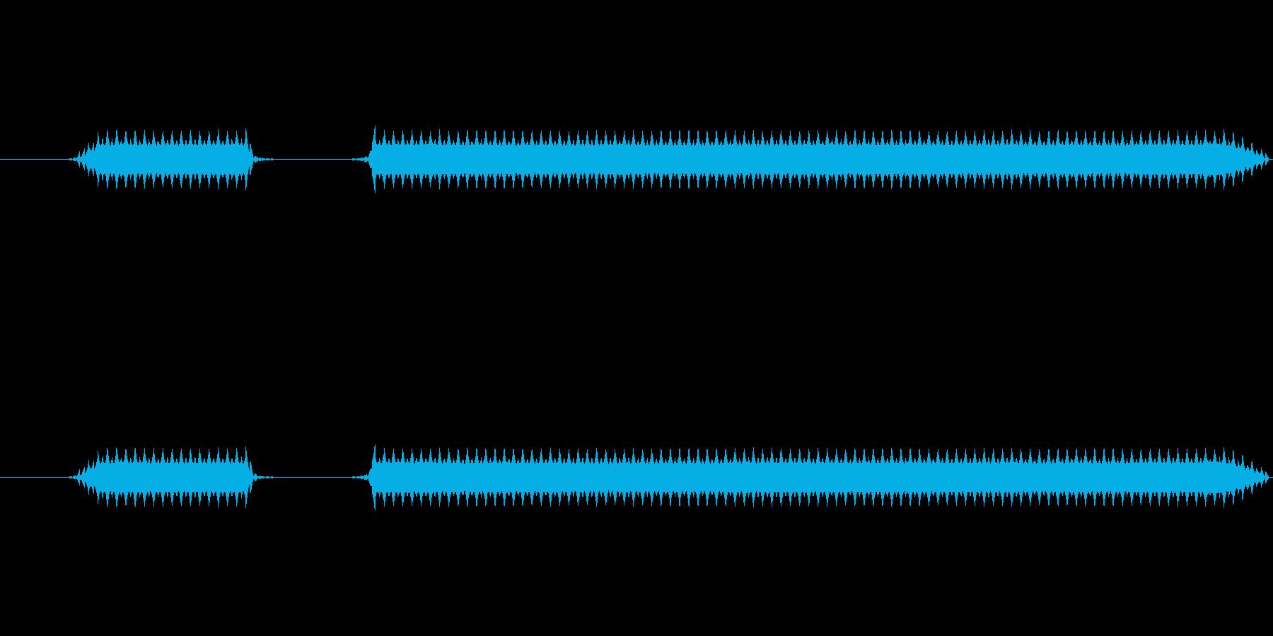 ブブー(高)【不正解、エラー】の再生済みの波形