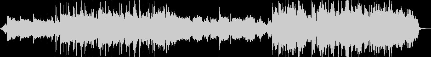 キラキラなBGMの未再生の波形