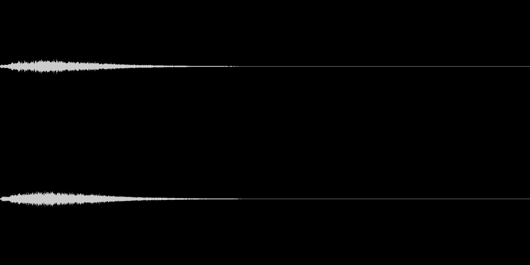 コンプ(ファンタジー系)の未再生の波形