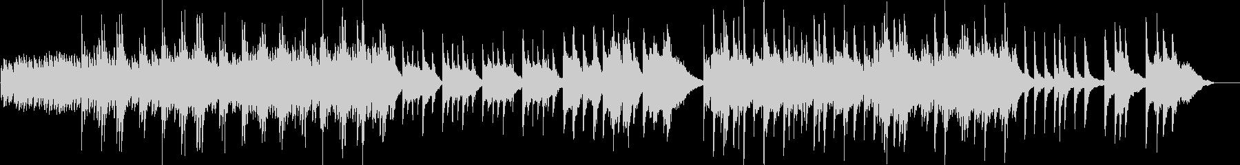 雅な雰囲気の静かな和のオーケストラ3の未再生の波形