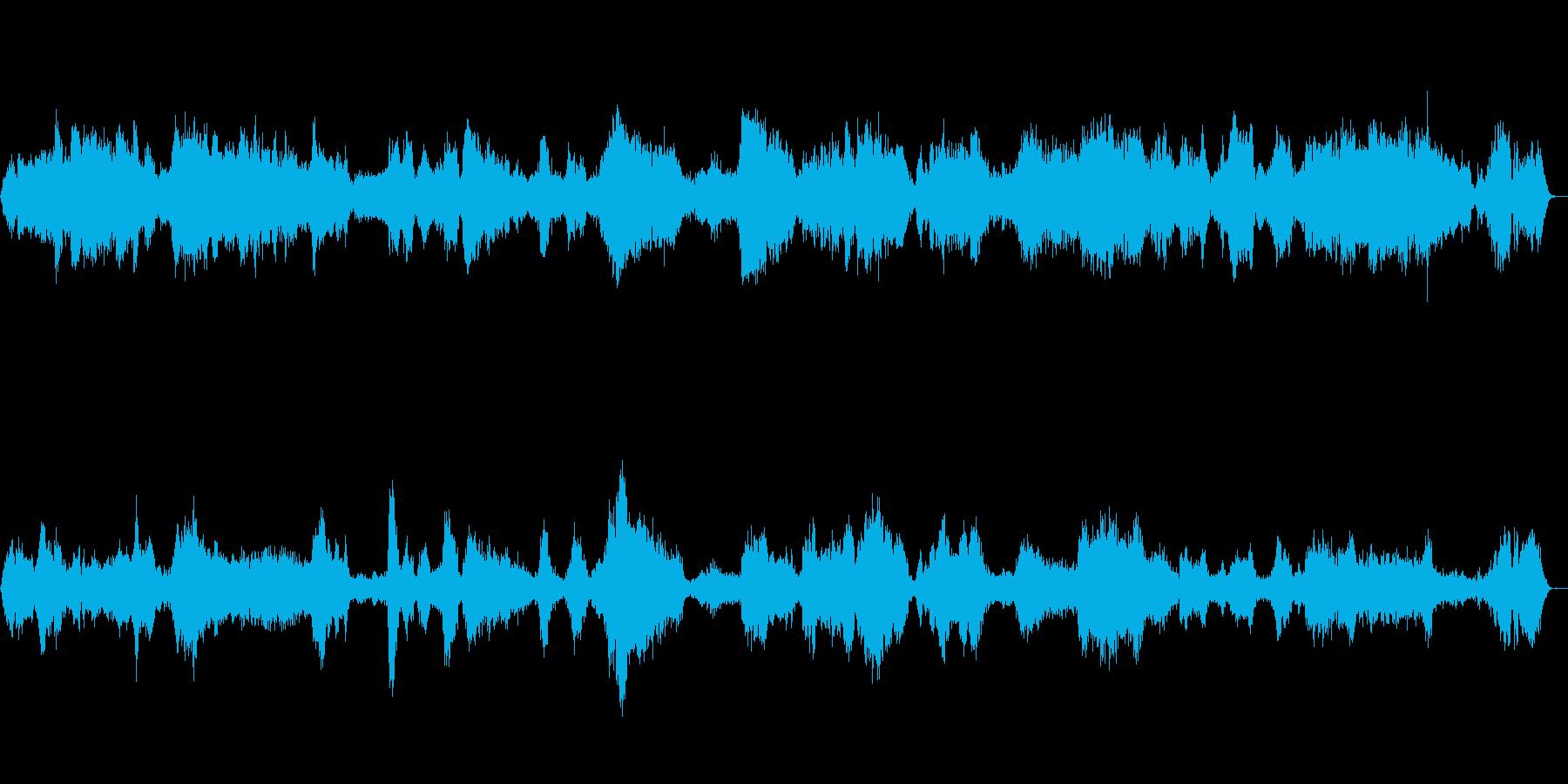 合戦・剣戟・戦闘・格闘・乱闘の声02の再生済みの波形