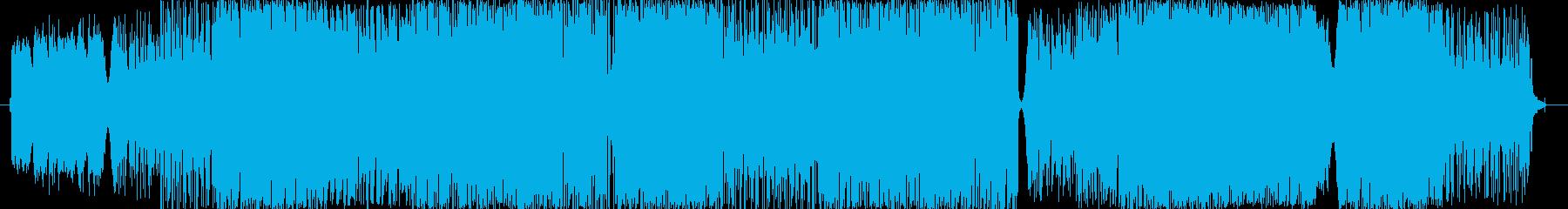 印象的なバラードの再生済みの波形