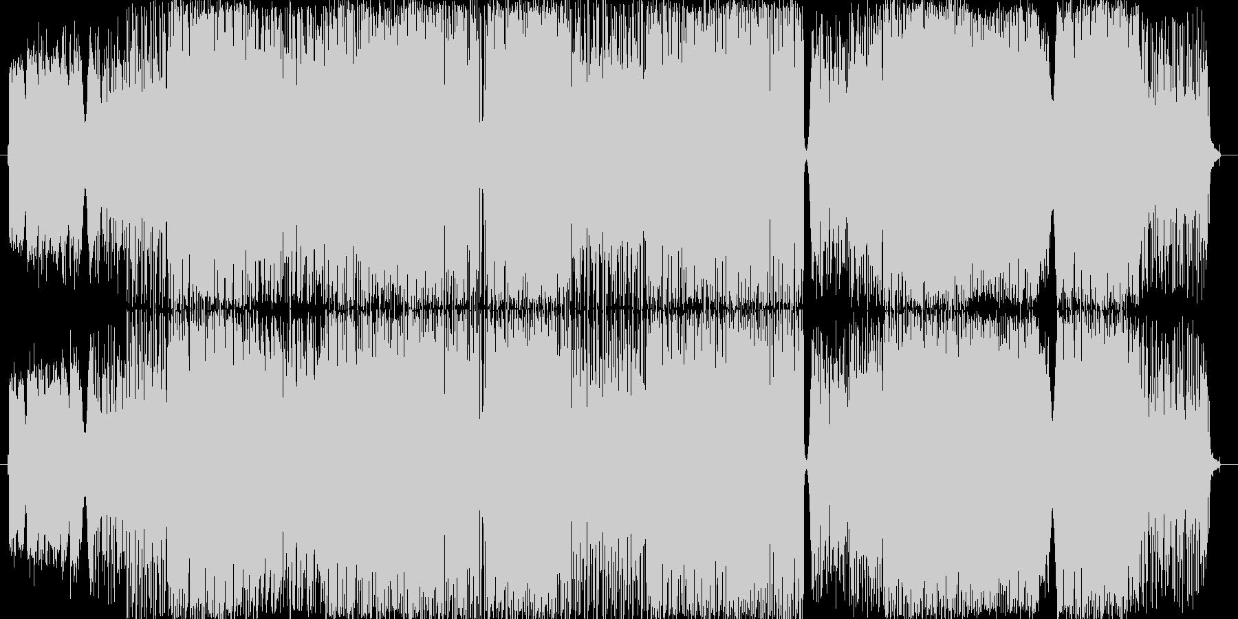 印象的なバラードの未再生の波形