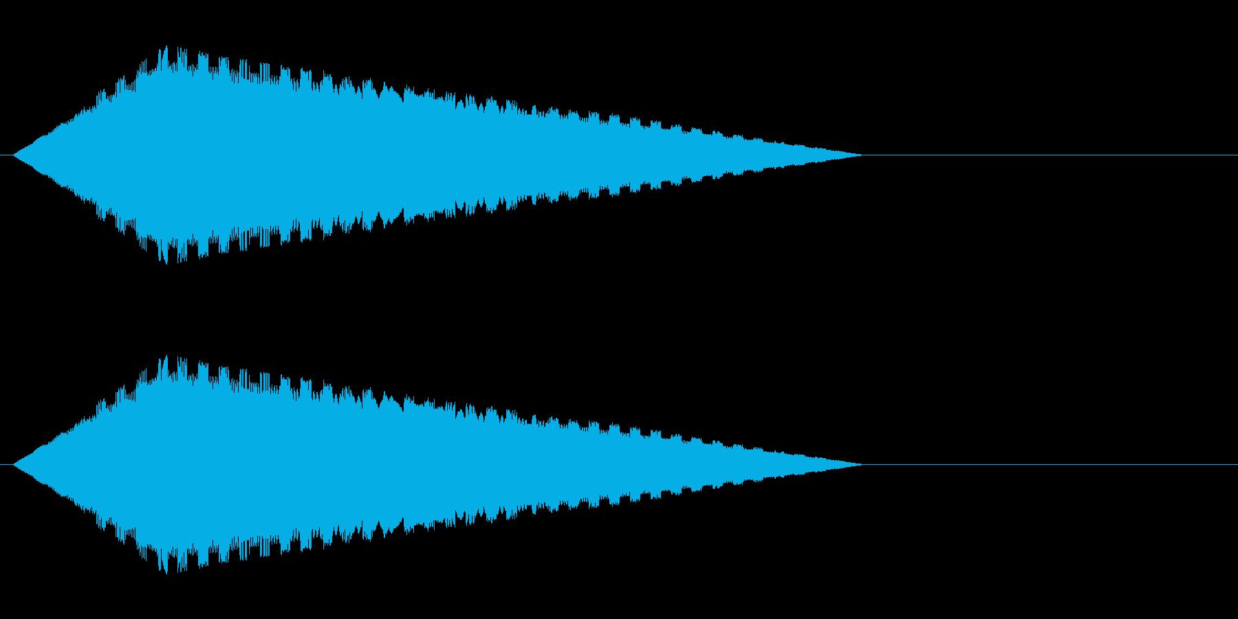 レトロゲーム風・魔法詠唱#3の再生済みの波形