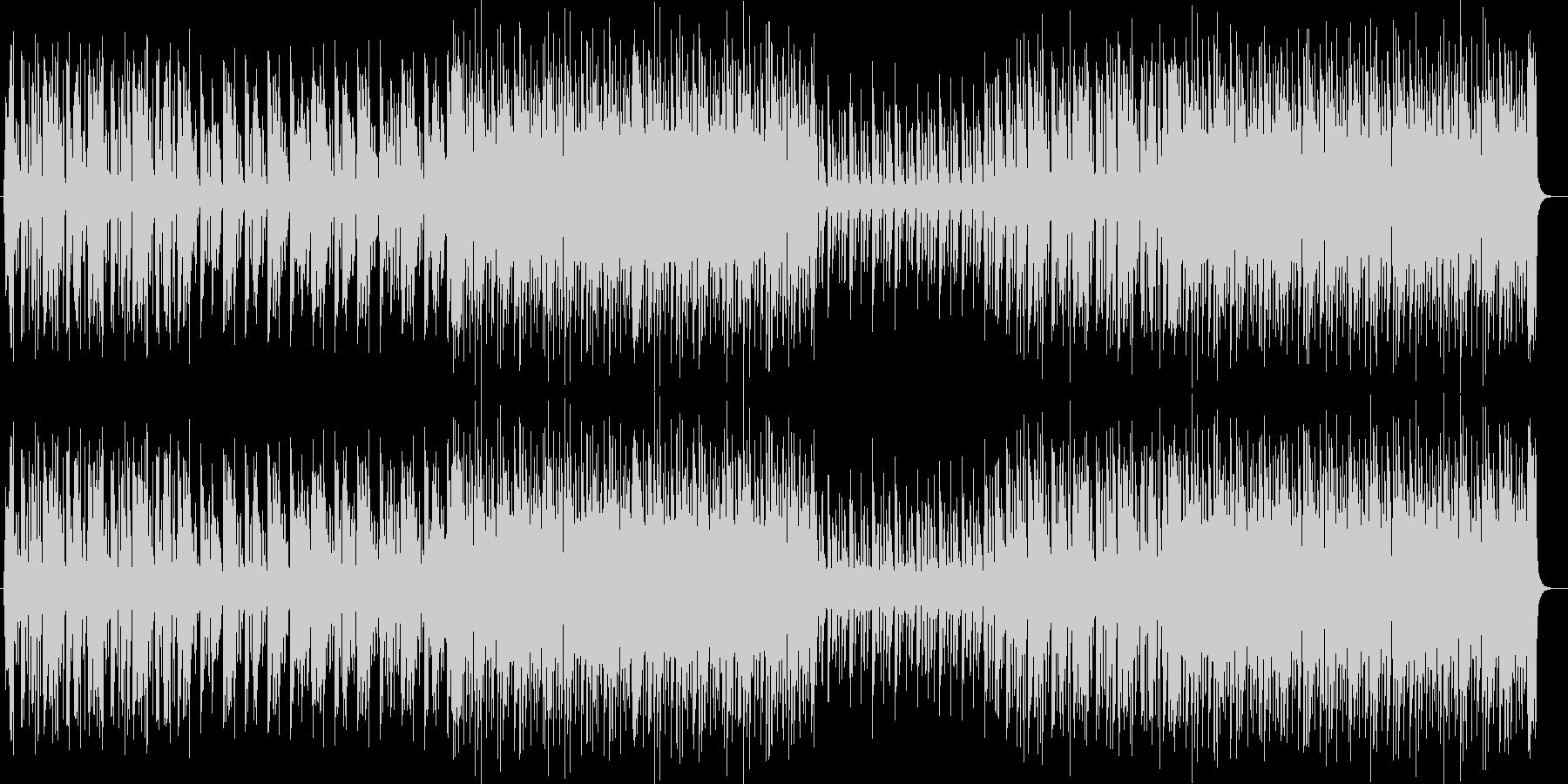 軽やかなリズムの爽やかなジャズポップの未再生の波形