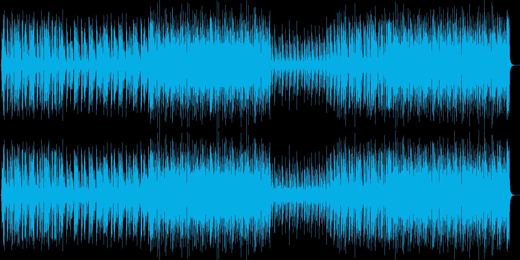 軽やかなリズムの爽やかなジャズポップの再生済みの波形