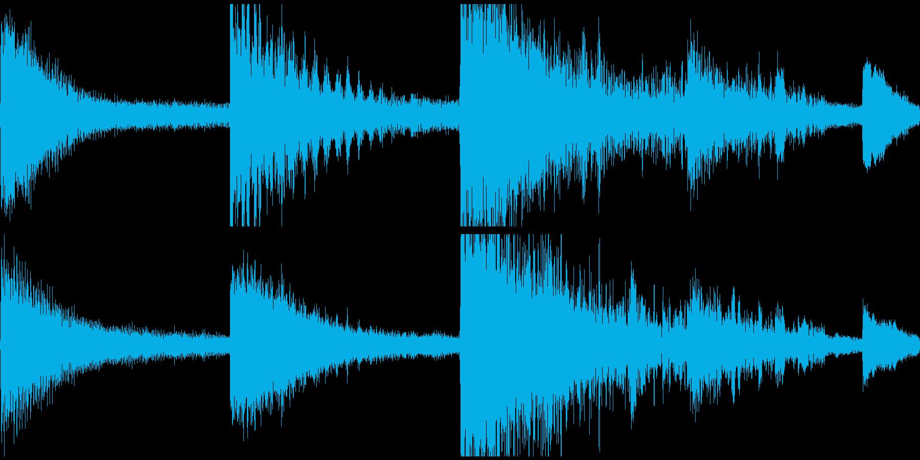 感動演出、始まりの予感新生活ループverの再生済みの波形