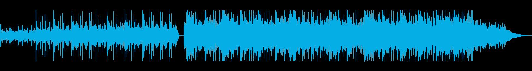 ストリングスが爽やかなポップスの再生済みの波形