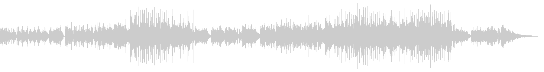 【メロ抜き】ノスタルジックなアコギアンサの未再生の波形