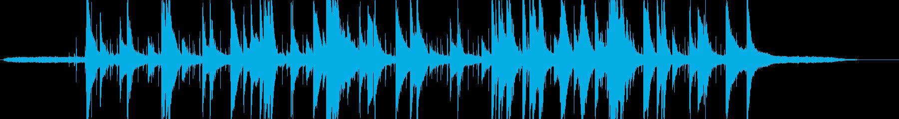 ゆったりとした大人なピアノトリオの再生済みの波形