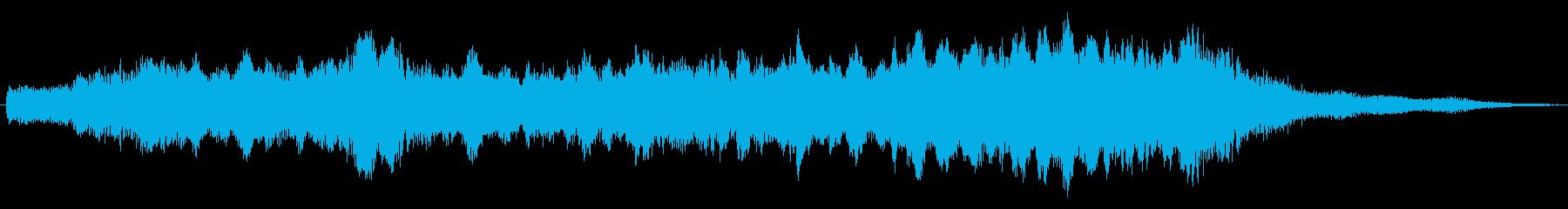 クエストクリア_落ち着いたストリングスの再生済みの波形