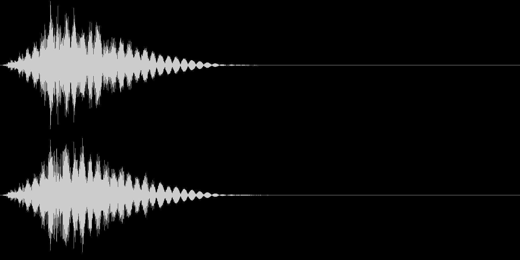 KAKUGE 格闘ゲーム戦闘音 64の未再生の波形
