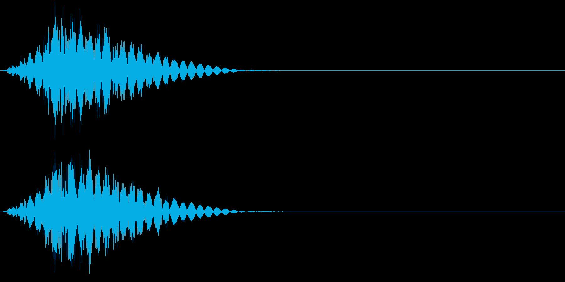 KAKUGE 格闘ゲーム戦闘音 64の再生済みの波形