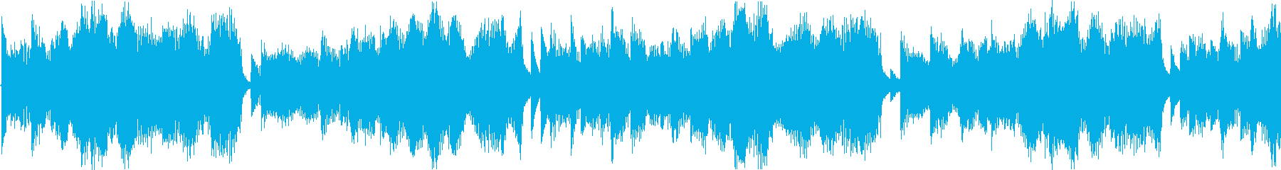 冬を想像させる幻想的なエレクトロニカの再生済みの波形