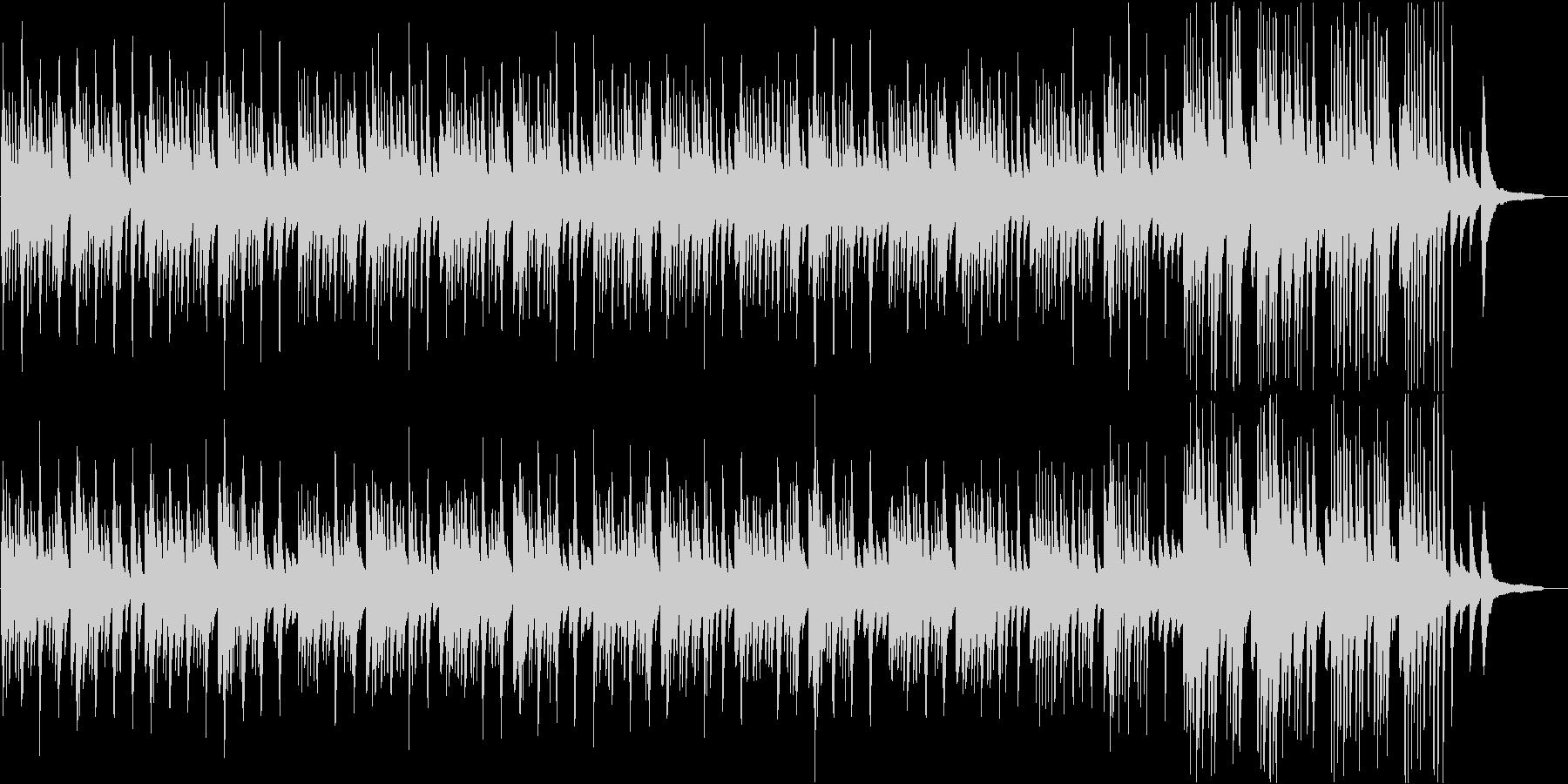 和の情感を誘う切ないピアノソロBGMの未再生の波形