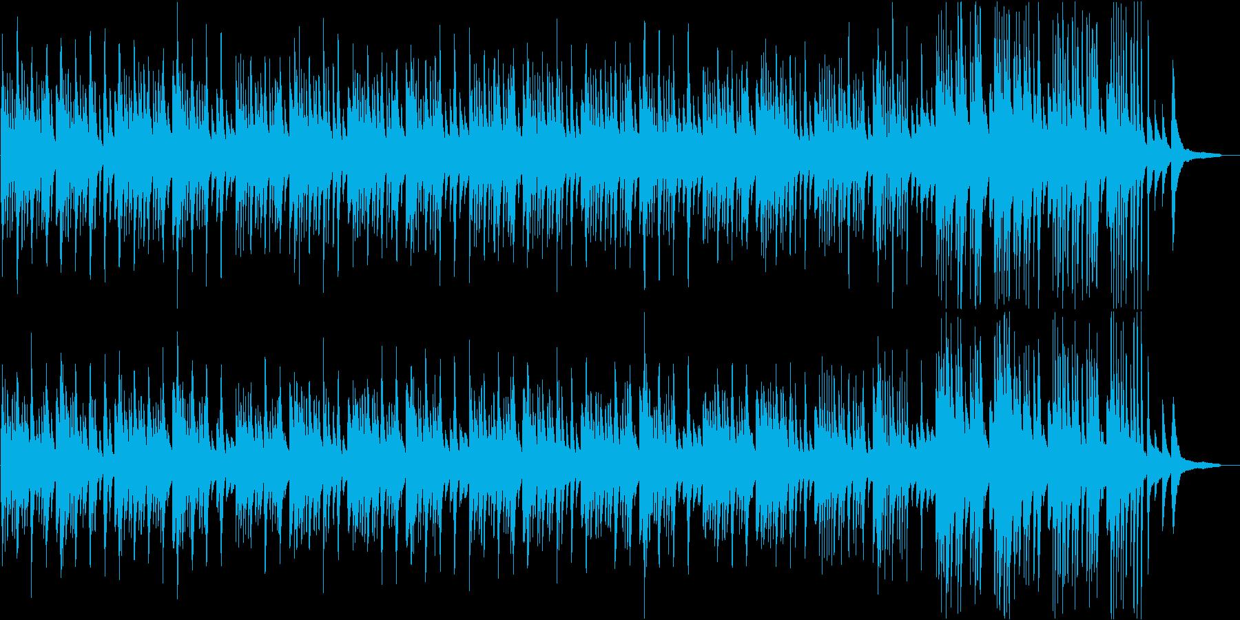和の情感を誘う切ないピアノソロBGMの再生済みの波形