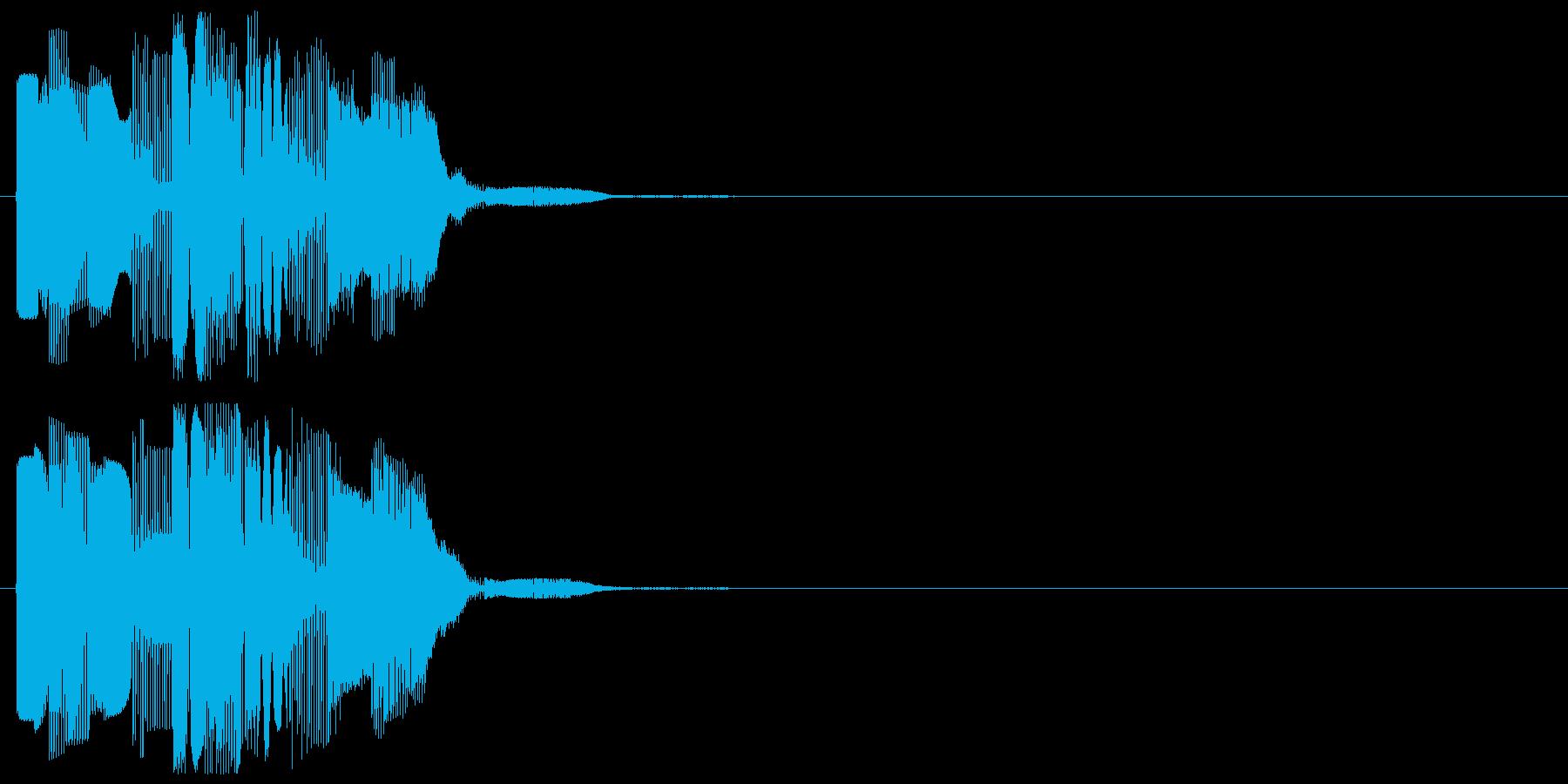 カーソル移動の再生済みの波形