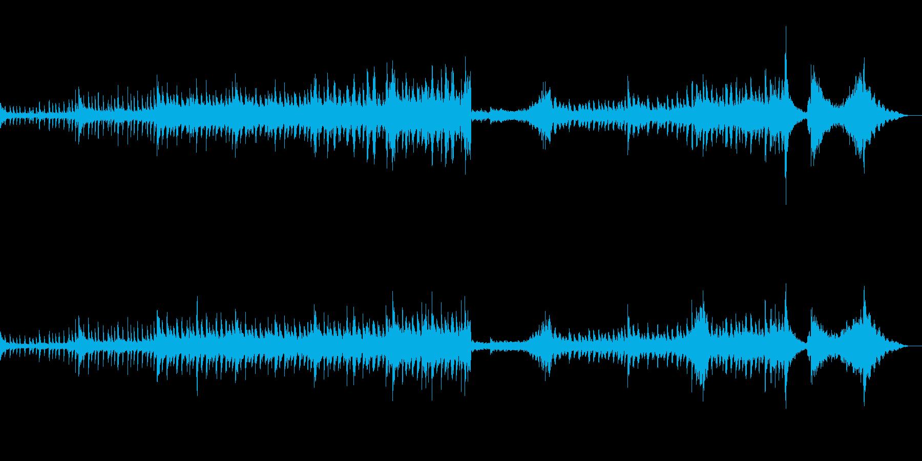 疾走感のある映画風オーケストラの再生済みの波形