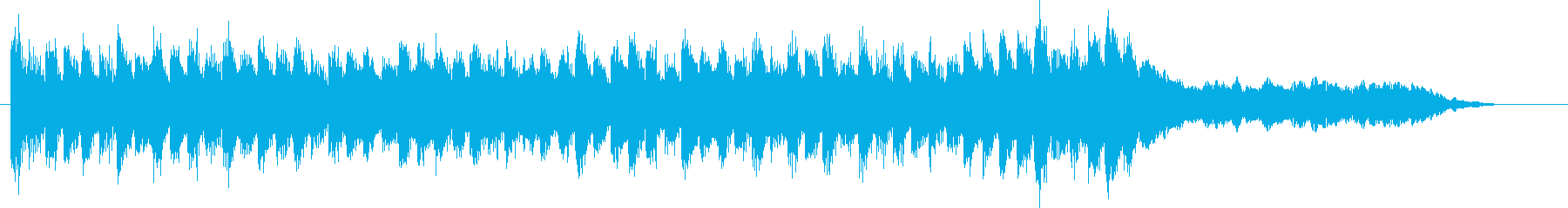 未来的、幻想的なハイブリッドサウンドの再生済みの波形