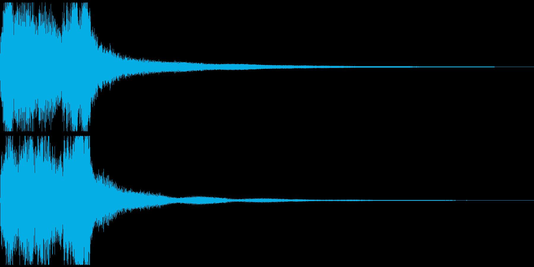 ステージクリア レベルアップ の再生済みの波形