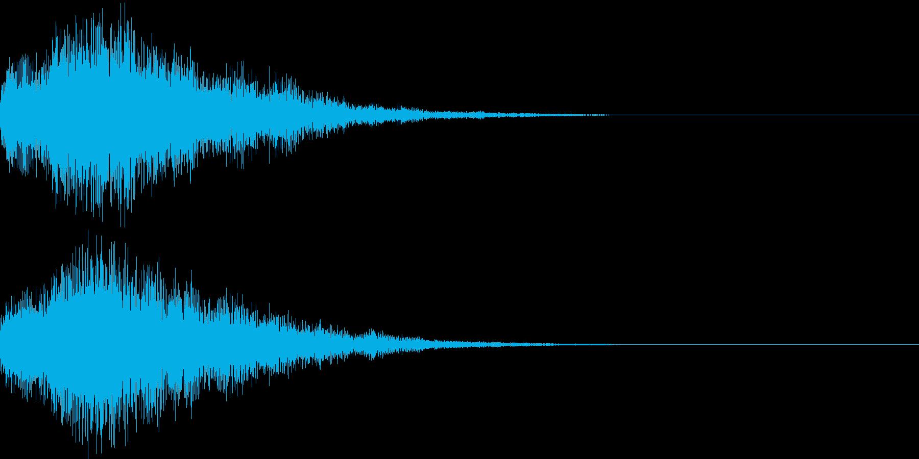 次のニュースです テレレーンの再生済みの波形