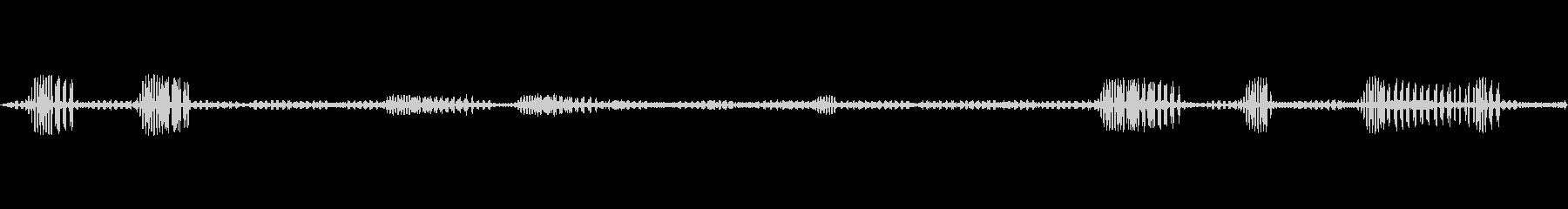 鈴虫,コオロギ/秋の夜/ループ可能!01の未再生の波形